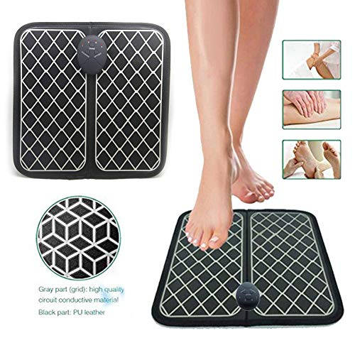 Masseur De Pieds Stimulateur Circulatoire Lectrique Machine De Circulation Sanguine De Massage De Pied Intelligente Machine De Massage De Pied Automatique Unisexe (Facile À Transporter, Pliable)