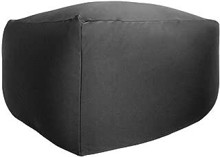 ビーズクッション 特大 キューブ タイプ Beads Cushion BodyFit XLサイズ 9色 (BK ブラック) 国産 マイクロビーズ 一人掛け ビーズソファ