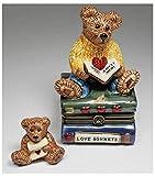 Boyds Le Bearmoge 'Wilson with Love Sonnets' Keepsake Porcelain Box