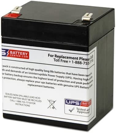 UPSBatteryCenter Deluxe Compatible Long-awaited Replacement for 12 F2 BERBC53 Belkin