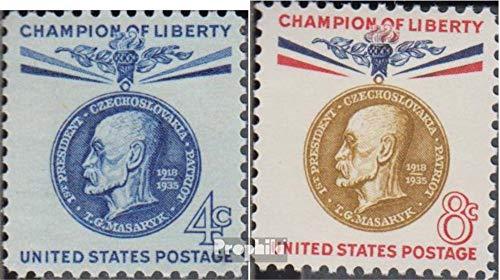 Prophila Collection EEUU 774-775 (Completa.edición.) 1960 Freedom Fighters (Sellos para los coleccionistas)