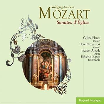 Mozart: Sonates d'église