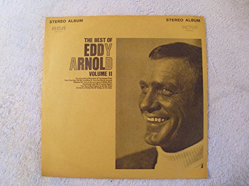 """The Best Of Eddy Arnold Volume II 7"""" Jukebox Mini LP"""