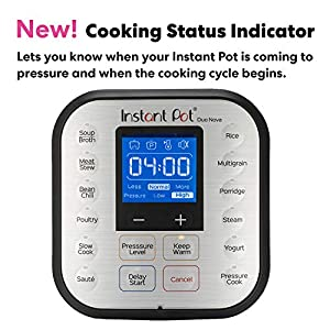 Instant Pot Duo Nova 7-in-1 Electric Pressure Cooker, Sterilizer, Slow Cooker, Rice Cooker, Steamer, Saute, Yogurt Maker, and Warmer, 6 Quart, Easy-Seal Lid, 14 One-Touch Programs #2