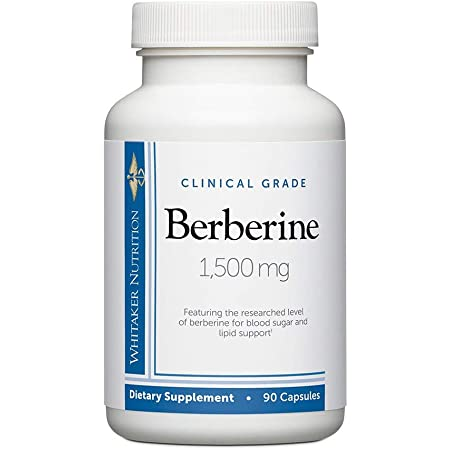 Dr. Whitaker's Berberine 1,500 mg Supplement (90 Capsules)