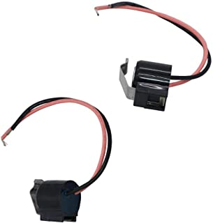 TOOLSCO Reliable (2-PACK) W10225581 Refrigerator Bimetal Defrost Thermostat . Replacement for Whirlpool KitchenAid Kenmore Refrigerators and Replaces W10225581, 2149849, 2161331, 2176066, 2188824.