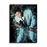 James Brown Aquarell-Kunst, dekoratives Gemälde, Poster,