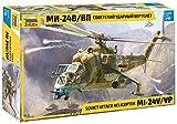 Zvezda 1:48 MIL Mi-24V/VP(HIND) Helicóptero de Combate, maqueta, Kit de construcción de...