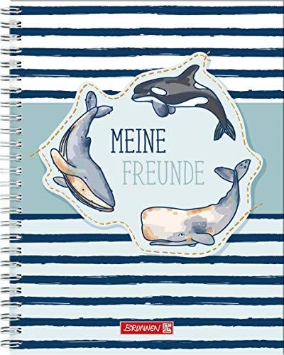 Brunnen Freundebuch Happy Ocean - Meine Freunde - mit Stickern Fans of Earth
