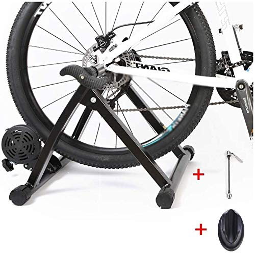CHHD cubierta Ciclismo Bicicleta estática, bicicletas magnética Trainer bicicletas Turbo Trainer cubierta Ejercicio de bicicletas Soporte El soporte plegable de bicicleta estática for bicicletas de mo