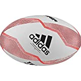 adidas NZRU R Ball Ballons de Rugby Men's, White/Black/Active Red/Legend Purple, 5