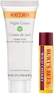 Burt's Bees Kit natural para labios y rostro burt's bees noche 2 un