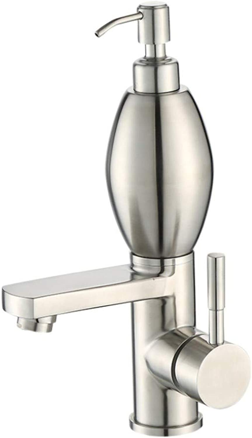 Basin Taps Swivel Spout Faucet Basin Faucet 304 Stainless Steel Single Cold and Hot greenical Faucet