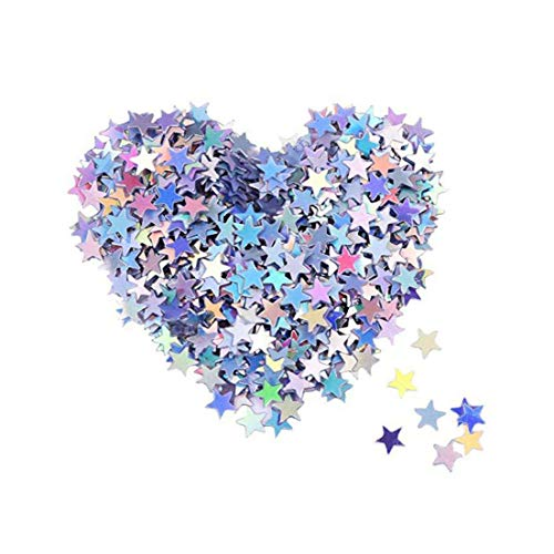 Glitter Star Confetti Stylish Simplicity Table Sequins Confetti for Wedding Birthday Decor 1000pcs