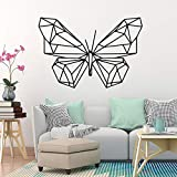 Papillon stickers muraux décoration de la maison amovible vinyle mural papier peint stickers muraux stickers muraux42X61 cm