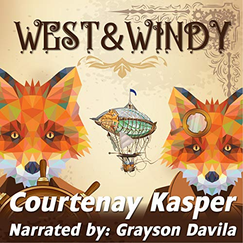 West & Windy audiobook cover art