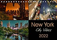 New York City Vibes (Tischkalender 2022 DIN A5 quer): Fotografien mit einzigartiger Atmosphaere und neuen Perspektiven (Monatskalender, 14 Seiten )