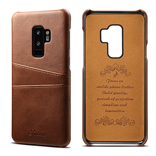 Galaxy S9 Plus Wallet Phone Case, XRPow Slim PU Leather Back Protective Case Cover With Credit Card Holder for Samsung Galaxy S9 Plus