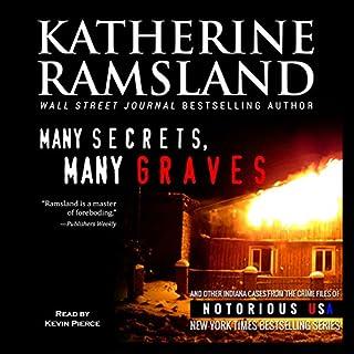 Many Secrets, Many Graves audiobook cover art