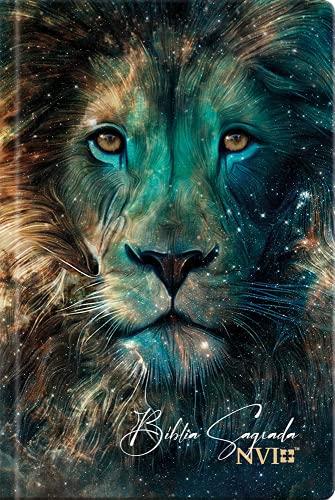 Bíblia Sagrada Leão estrelas - NVI