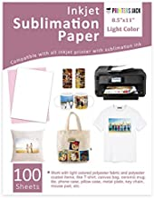 Sublimation Paper Heat Transfer Paper 100 Sheets 8.5
