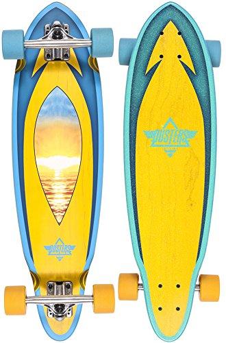 Dusters Mini Skateboard Longboard Sunset Schmal, 31