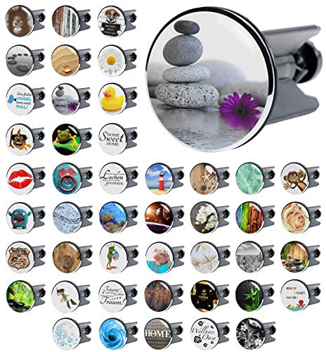 Waschbeckenstöpsel Energy Stones, viele schöne Waschbeckenstöpsel zur Auswahl, hochwertige Qualität ✶✶✶✶✶