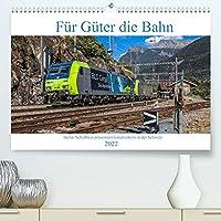 Fuer Gueter die Bahn (Premium, hochwertiger DIN A2 Wandkalender 2022, Kunstdruck in Hochglanz): Ansichten verschiedenster Gueterzuege, welche im Jahre 2018 durch die Schweiz fuhren (Monatskalender, 14 Seiten )