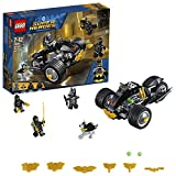 LEGO 76110 Super Heroes Batman and Talon Fighters Minifigures, Ace the Bat-Hound Figure plus Motorbike Vehicle Building Set, DC Toys for Kids
