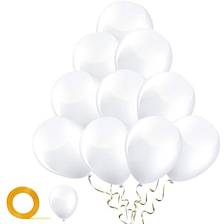 Set di palloncini a forma di cuore 25 PZ bianco matrimonio nozze festa evento