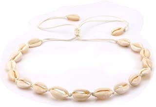c938f8b23a520 Amazon.com: cowrie shell necklace