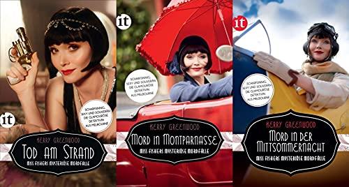 Miss Fishers mysteriöse Mordfälle in 3 Bänden + 1 exklusives Postkartenset (Krimi)