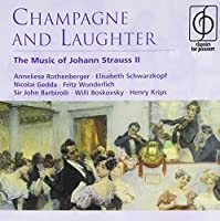 J Strauss Champagne & Laughter: Music of