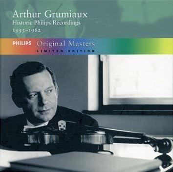 Arthur Grumiaux - Historic Philips Recordings 1953-1962