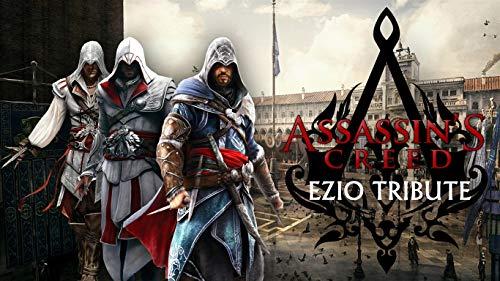 1000 rompecabezas para niños y adultos Assassin's Creed The Ezio Collection Un giro brusco del cerebro, juegos desafiantes, juguetes coloridos