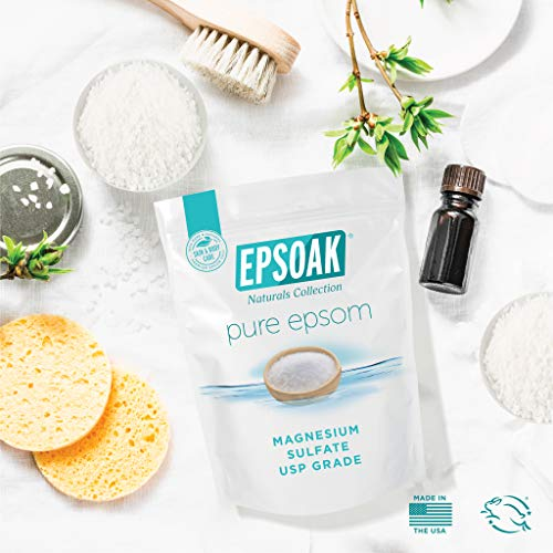 Epsoak Epsom Salt 19 lb. Bulk Bag Magnesium Sulfate USP (Packaging May Vary)