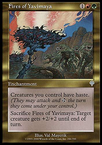 Magic The Gathering - Fires of Yavimaya - Invasion