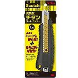 3M スコッチ カッター チタンコート PRO オートロック式 Lサイズ 刃長さ100mm TI-DLA