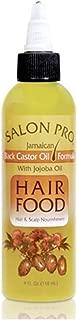 Salon Pro Hair Food, Black Castor With Jojoba Oil, 4 Ounce