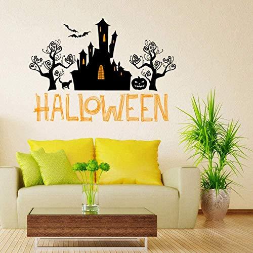 YFKSLAY Halloween Esqueleto Fundo Decorado Sala De Est Quarto Adesivos De Parede