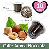 10 Capsulas Café Sabor Avellana Compatibles Nespresso - Café Kickkick