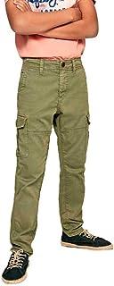 Pepe Jeans - PB210541 KNOX - PANTALÓN Cargo - NIÑO