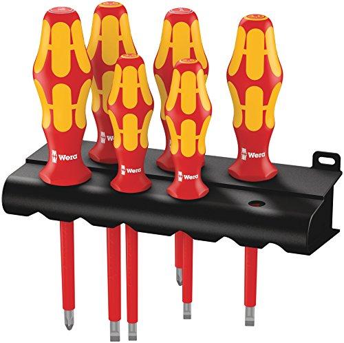 WERA Kraftform Plus Insulated 6-Piece Screwdriver Set Only $27.68