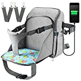 Diaper Bag Travel Backpack Baby Nappy Changing Bag with Baby Seat, Ceekii Multi-Function