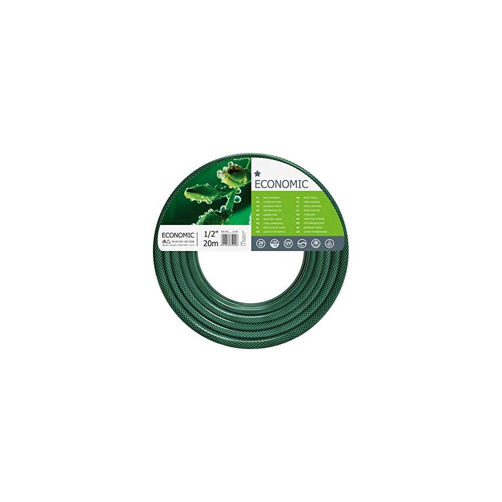Cellfast Economic Tuyau d'arrosage, Vert, 1/2″ 20 m