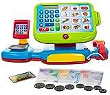Elektronische Kinder Spielkasse mit Sound Touch-Display Scanner Waage Kartenlesegeraet Spiel-Geld...