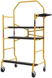 Best Metaltech I- IMIS Job Site Series 6-3/8 4 x 2-1/2 ft. Scaffold 900 lb. Load Capacity Reviews