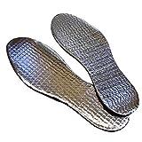 TOOGOO 3 paires de semelles thermiques isolantes de chaussures d'aluminium pour les...