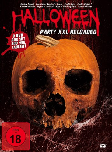Halloween - Party XXL Reloaded [3 DVDs] [Alemania]