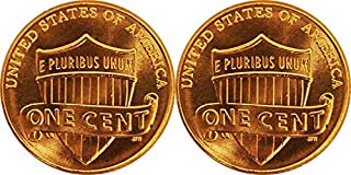 2019 P and D Lincoln Shield Cents Uncirculated